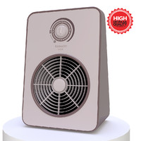 3d heater modelled