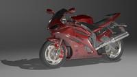 3d model superbike