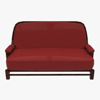 3d couch ready model