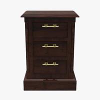 3d x floor cabinet