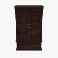 3d floor cabinet model
