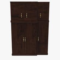 floor cabinet 3d model