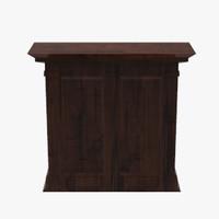 fbx floor cabinet