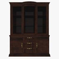 fbx glass cabinet