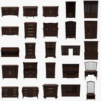 3d model pack cabinets