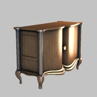 3d commode furniture model