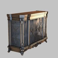 3ds max commode furniture