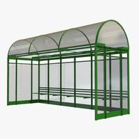 bus shelter fbx