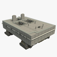 3d space crawler model