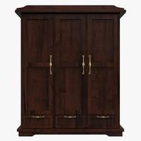 dresser cabinet fbx
