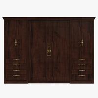 dresser cabinet 3d ma