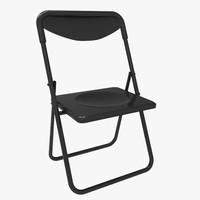 fold chair fbx