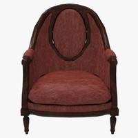 3d grand chair