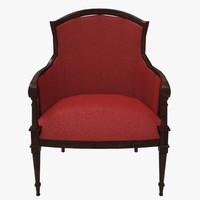grand chair 3d x