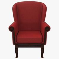 grand chair 3d fbx