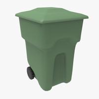 3d model wheel bin