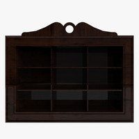3d model wall cabinet