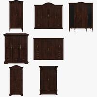 3d dresser cabinets