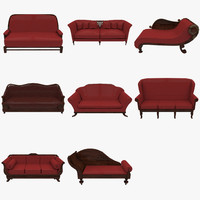 couch chair sofa 3d ma