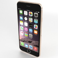 3d model iphone 6 apple