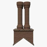 chimney fbx