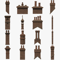 3ds max chimneys