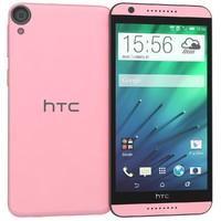 3d model of htc desire 820 pink