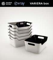 ikea variera box 3d max