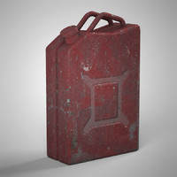 3d model jerry jerrycan