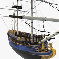 3d model of hms bounty