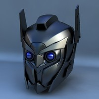 3ds max robot head