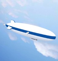 3ds max zeppelin
