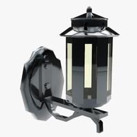 lantern ready 3d fbx