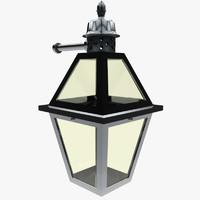 3d model of lantern ready