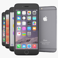 3d model apple flagship iphone 6
