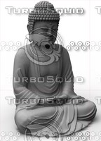 buddha obj
