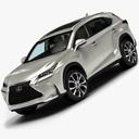 Lexus NX 3D models