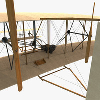 obj wright flyer