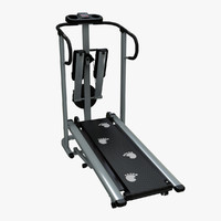 treadmill hdri 3d 3ds