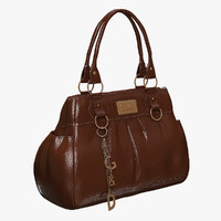 light ladies hand bag 3d max