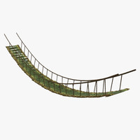 3d ma bamboo bridge