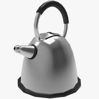 3d model kettle tea teapot