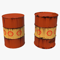 oil drums fbx