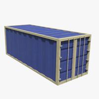 ship container 3d fbx
