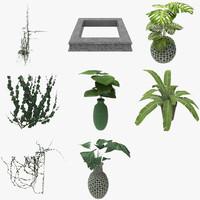 3d ma plant garden