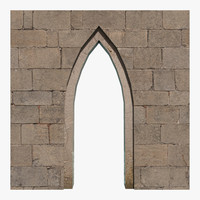 3d model arch ready