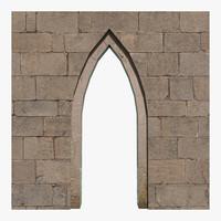 3d model arch ready