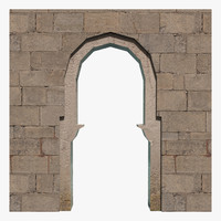 3d model arch archway