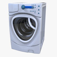 washing machine 3d fbx