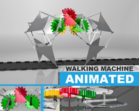 3ds max linkages walking